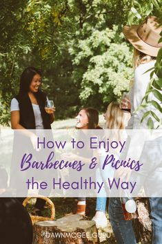 How to Enjoy Barbecues and Picnics the Healthy Way