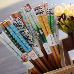 筷子日式便携 韩国单双天然碳化竹木筷 日本套装礼盒筷结婚回礼品-淘宝网