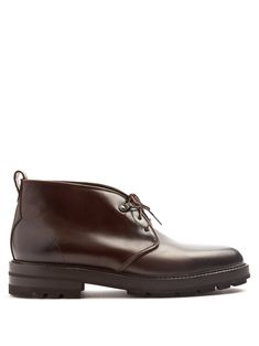 Click here to buy Fratelli Rossetti Dexter raised-sole leather desert boots at MATCHESFASHION.COM
