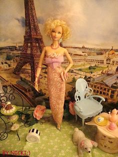 Vintage Barbie OOAK By Nicki Oh La La Basic by Nickisbarbieshopper, $19.99