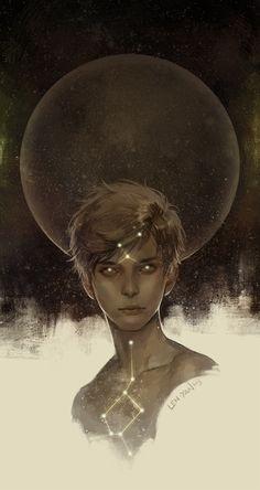 Dark side of the moon by Magdalena Pagowska