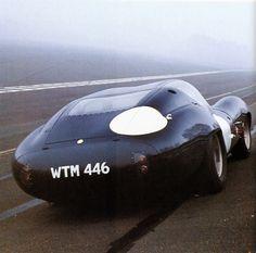 """frenchcurious: """"Lister-Jaguar coupé dans sa configuration des 24 heures du Mans 1963 - Automobiles Classiques N° 53 décembre 1992. """""""