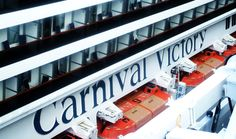 Carnival Victory in Port Canaveral Florida