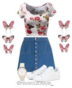 """""""Untitled #98"""" by weneveroutofstyle on Polyvore featuring HUGO, adidas, women's clothing, women, female, woman, misses and juniors"""