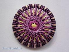 紫×黄色 外径46mm
