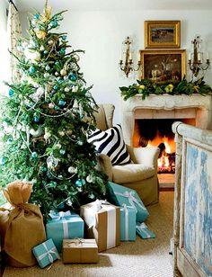 Turquoise Christmas!
