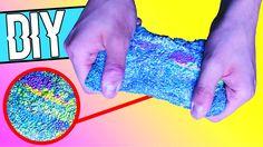 Hello! Im heutigen DIY zeige ich euch, wie ihr Wolkenschleim, Foam Clay, Slime selber machen könnt! Wolkenschleim ist eine Mischung zwischen Slime & Knete un...
