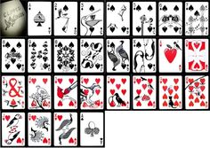 Unique Playing Cards, Playing Cards Art, House Of Cards, Deck Of Cards, Aces And Eights, Desktop Design, Fortune Teller, Paper Cutting, Card Games