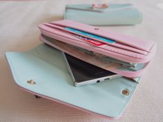 Nastro cassa portafoglio caso telefono per di TheLittleTreeHouse
