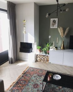 Living Room Paint, Living Room Interior, Home Interior Design, Rugs In Living Room, Living Area, Living Room Decor, My Dream Home, Colorful Interiors, Sweet Home