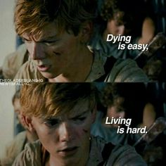 Newt is my fav character in the hole maze runner series why did he have to die? Maze Runner Thomas, Maze Runner The Scorch, Maze Runner Cast, Maze Runner Movie, Maze Runner Trilogy, Maze Runner Series, Thomas Brodie Sangster, Maze Runer, Best Series