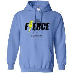 """""""Fierce"""" Men's Long Sleeve Tees & Hoodies"""