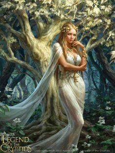 f Druid Robes Deciduous Forest Orchard Legend of the Cryptids Esflonne by anotherwanderer female character npc Dungeons & Dragons DND D&D Pathfinder PFRPG Warhammer Star Wars Shadowrun Call of Cthulhu Lord of the Rings LoTR + fantasy lg Fantasy Girl, Chica Fantasy, Fantasy Art Women, 3d Fantasy, Beautiful Fantasy Art, Fantasy Artwork, Character Portraits, Character Art, Fantasy Characters