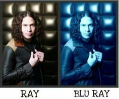 Ray and Blu-Ray guys.this explains why Blu-Ray is expensive Emo Bands, Music Bands, My Chemical Romance Members, Mcr Memes, Fuuny Memes, Ray Toro, Mikey Way, Joke Of The Day, Black Parade