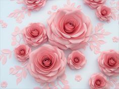 You will love my giant paper roses for decoration weddings, anniversary or any other occasions. If you need to create of atmosphere of luxury classic, large paper roses would be the perfect solution. Flowers In Jars, Large Paper Flowers, Paper Flower Wall, Paper Flower Backdrop, Giant Paper Flowers, Flower Wall Decor, All Flowers, Flower Jars, Fabric Flowers