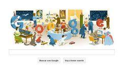 Nochevieja 2012, el último doodle para despedir el año