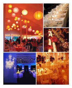 lighting for wedding receptions