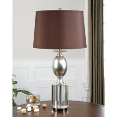 Uttermost Almira Poly-crystal Table Lamp