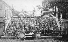 1909.  Boys Brass Band in Lewes, Delaware..1325-003-207 #327.  Delaware Public Archives.  www.archives.delaware.gov