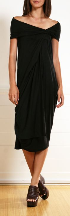 Love the dress -gotta LOSE THE SHOES!!! URBAN ZEN DRESS