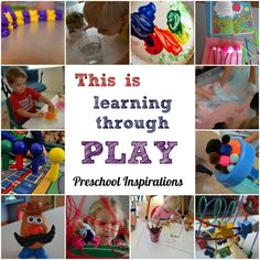 What is learning through play? Here is an explanation of learning through play and what it looks like in my classroom. Play-Based Learning: Why it Matters by Preschool Inspirations Learning Tips, Inquiry Based Learning, Project Based Learning, Early Learning, Learning Spaces, Learning By Playing, Learning Environments, Preschool Curriculum, Preschool Learning