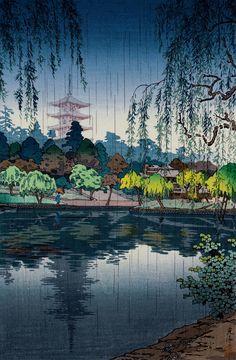 土屋光逸 (風光礼讃) 奈良興福寺