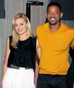 Will Smith, Margot Robbie Together First Time Since Cheating Rumor - Us Weekly