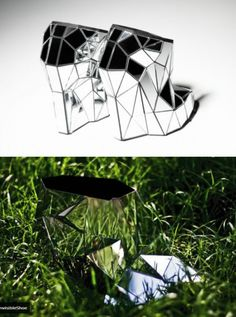 Invisible shoe design....this is so cool!!!!