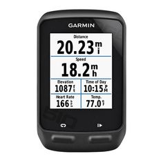 Garmin Edge 510 Cycle Computer GPS Heart Rate Cadence Cycling - The touchscreen Edge 510 is designed for the competitive cyclist who seeks the most accurate and comprehensive ride data. Connected features¹ through your smartphone include live tracking, social media sharing and weather. Whether you're training, racing or touring, Edge 510 tracks the details of your ride. You can view it later on a map at Garmin Connect™.