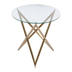 Shop Armen Living  LCCRLAGL Crest End Table at ATG Stores. Browse our end…