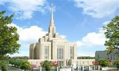 The new Ogden Temple - 2013.  So excited :)