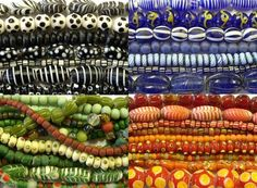 #beads Glass Beads from Indonesia at Happy Mango Beads!  Shop here: http://happymangobeads.com/glass/indonesia/