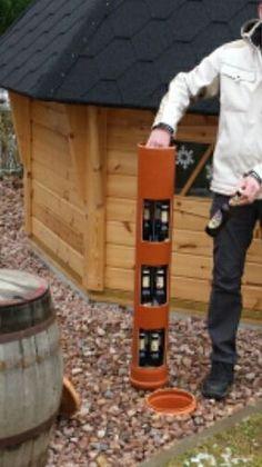 de: The Erdloch - beer cooler for currentless cooling in .de: The Erdloch – beer cooler for electroless cooling in the garden! Outdoor Projects, Garden Projects, Projects To Try, Outdoor Decor, Beer Cooler, How To Make Beer, Beer Garden, Alternative Energy, Back Gardens