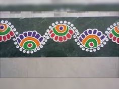 This Diwali decorate your house with these best rangoli designs. These are the best rangoli designs that you must try this Diwali. Easy Rangoli Designs Videos, Simple Rangoli Designs Images, Colorful Rangoli Designs, Rangoli Designs Diwali, Diwali Rangoli, Beautiful Rangoli Designs, Rangoli Borders, Rangoli Patterns, Rangoli Border Designs