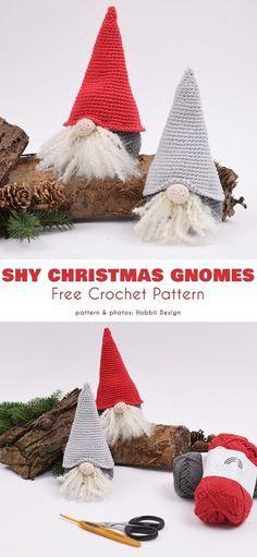 Crochet Santa, Holiday Crochet, Diy Crochet, Crochet Crafts, Crochet Projects, Free Christmas Crochet Patterns, Crochet Bowl, Crochet Angels, Knitting Projects