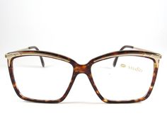 Studio Mod:Pompei, Authentic Vintage 80s Tortoise Eyeglasses made in Italy, Vintage High Fashion Big Cat Eye Tortoise  Eyeglasses,NOS by KNVintageEyeglasses on Etsy