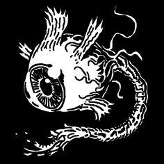 Eye — tattoo, tattoos, inspiration, woodcut, illustration — Daily Black & White Illustration