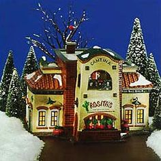 "Department 56: COLLECTING - ""Rosita's Cantina"" - Retirements...able to just obtain this one."