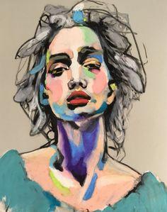"""""""Prima Ballerina"""" Oil pastel portrait on Velour Art Paper. Size 50 x 70 cm. The painting comes with exhibition. Pastel Artwork, Oil Pastel Paintings, Oil Pastel Art, Oil Pastel Drawings, Art Drawings, Oil Pastels, Horse Paintings, Abstract Portrait Painting, Portrait Art"""