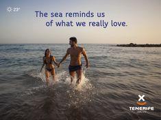 El mar nos hace recordar lo que realmente amamos. Tenerife, Islas Canarias // The sea reminds us of what we really love. Tenerife, Canary Islands // Das Meer erinnert uns daran, was wir wirklich lieben. Canary Islands, Carnival, National Parks, Sea, Holiday, Frases, Quotes, Canarian Islands, Tenerife