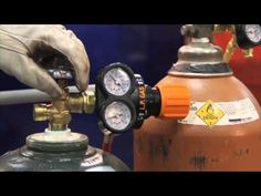 Excellent acetylene (oxy-fuel) equipment safety-procedures video - from the Victor company