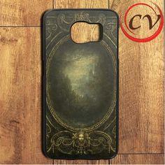 Dark Golden Baroque Frame Samsung Galaxy S7 Edge Case