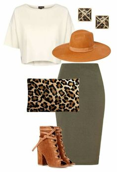 A Little Leopard by terra-glam on Polyvore featuring polyvore, fashion, style, Topshop, Lipsy, Gianvito Rossi, Belle Noel by Kim Kardashian and clothing