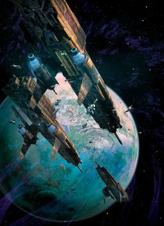 There's a Reason Why Dave Seeley's Gorgeous Space Art Is On So Many Book Covers
