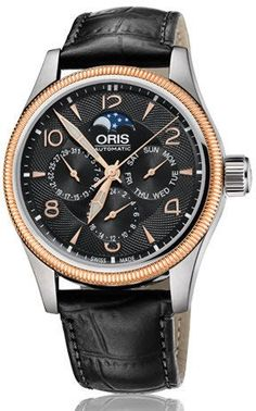 @oris Watch Big Crown Complication Leather #add-content #bracelet-strap-leather #brand-oris #case-material-steel #case-width-40mm #delivery-timescale-4-7-days #dial-colour-black #gender-mens #limited-code #luxury #official-stockist-for-oris-watches #packaging-oris-watch-packaging #style-dress #subcat-big-crown #supplier-model-no-01-582-7678-4364-07-5-20-76fc #warranty-oris-official-2-year-guarantee