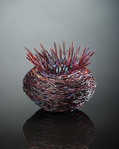 Protection_Constraint_Demetra Theofanous, glass, lampworked--2014 Niche Awards