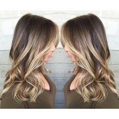 Blonde balayage Blonde ombre by Alexis Thurston. Blonde hair