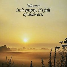 In The Quiet Of Our Hearts, God Speaks. Listening Is The Power Of Prayer
