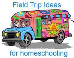 Free Field Trips - Field Trip Ideas for Homeschoolers