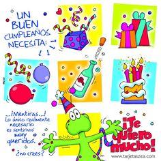 postal de cumpleaños Funny Happy Birthday Wishes, Birthday Messages, Happy Birthday Cards, Birthday Quotes, Happy Birthdays, Happy B Day Images, Happy Day, Bird Houses Diy, Bday Cards